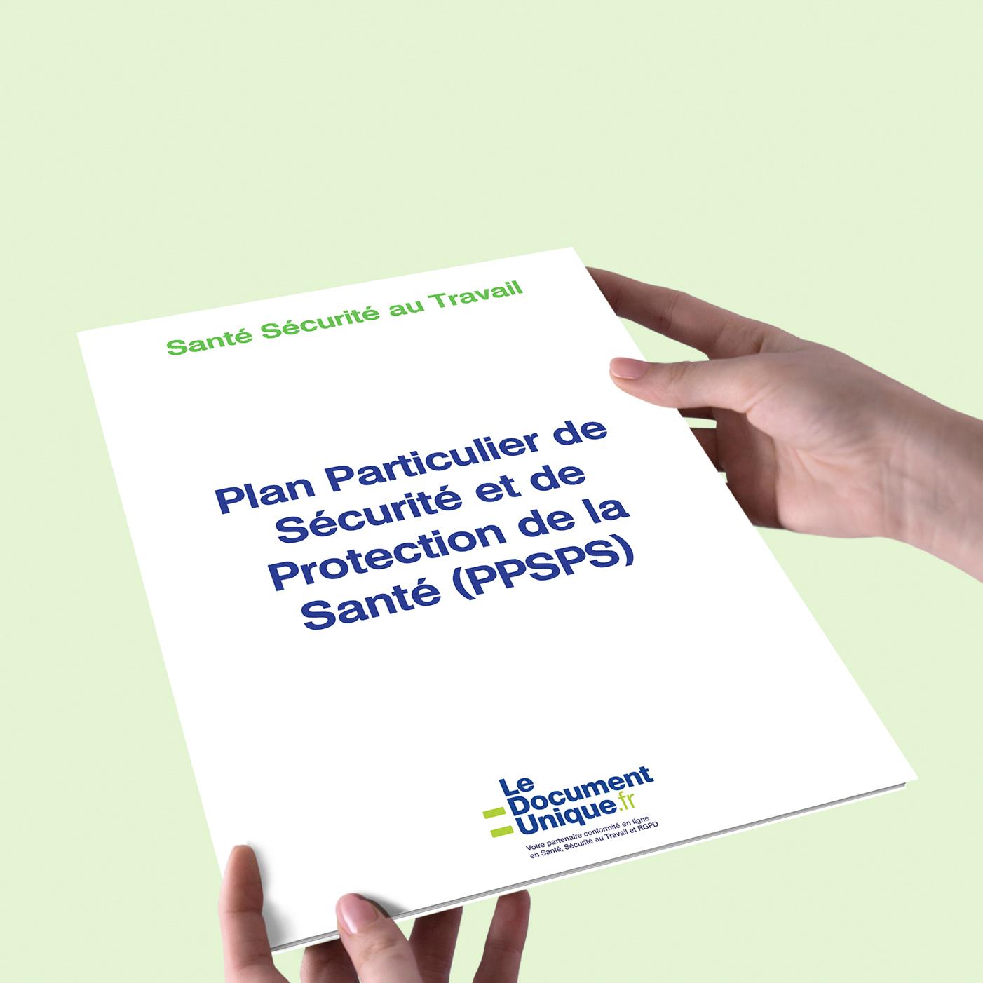 plan particulier de sécurité et de la protection de la santé PPSPS