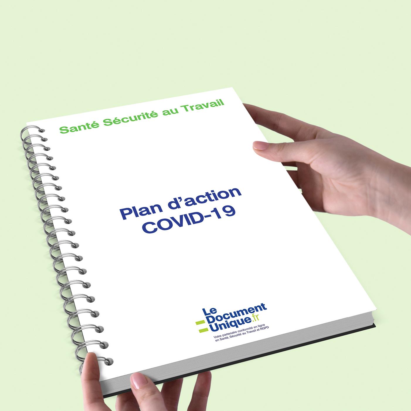 plan d'action COVID-19 obligation de santé et sécurité au travail
