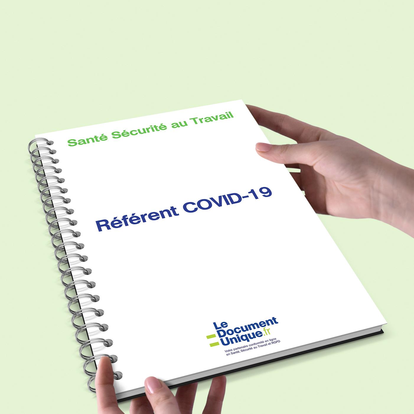 référent COVID-19 pour être conforme santé et sécurité au travail