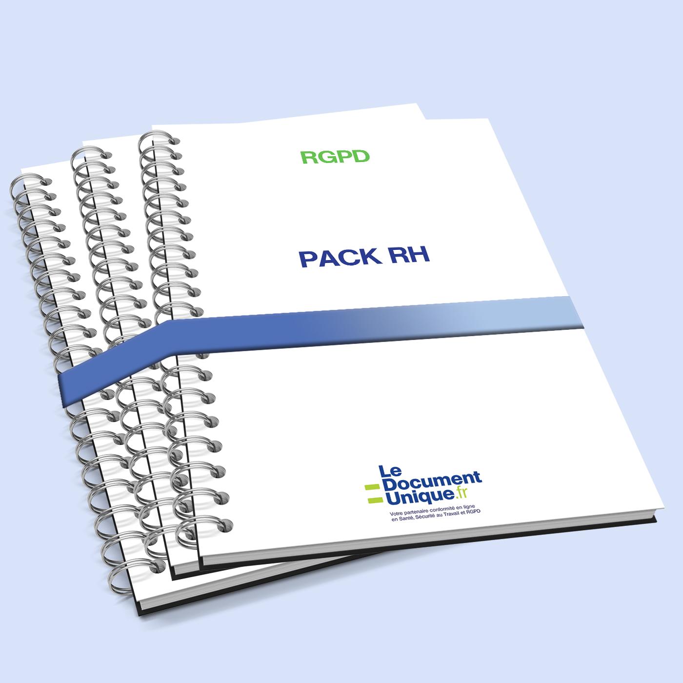 Pack documents RH pour entreprise