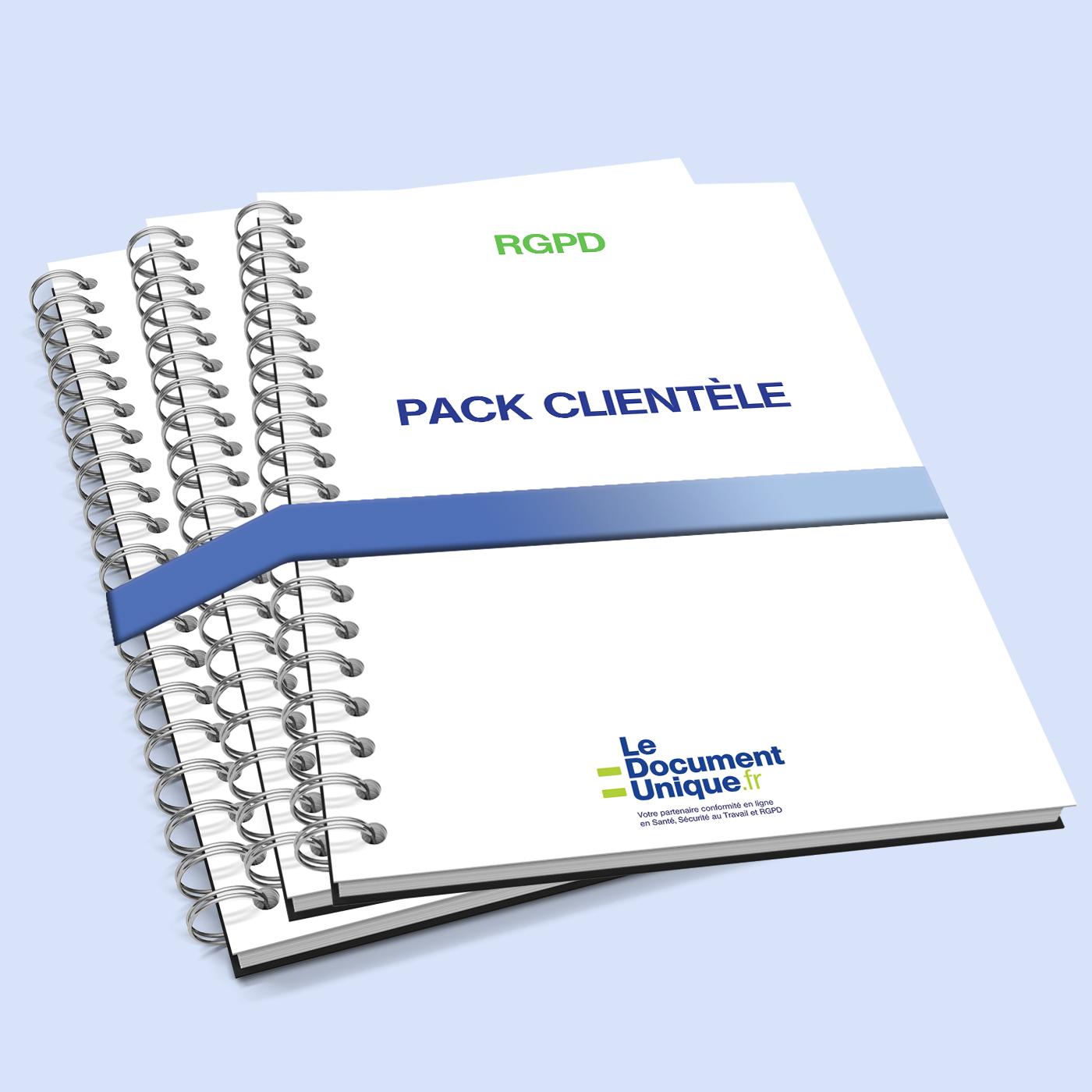 Pack clientèle pour les entreprises