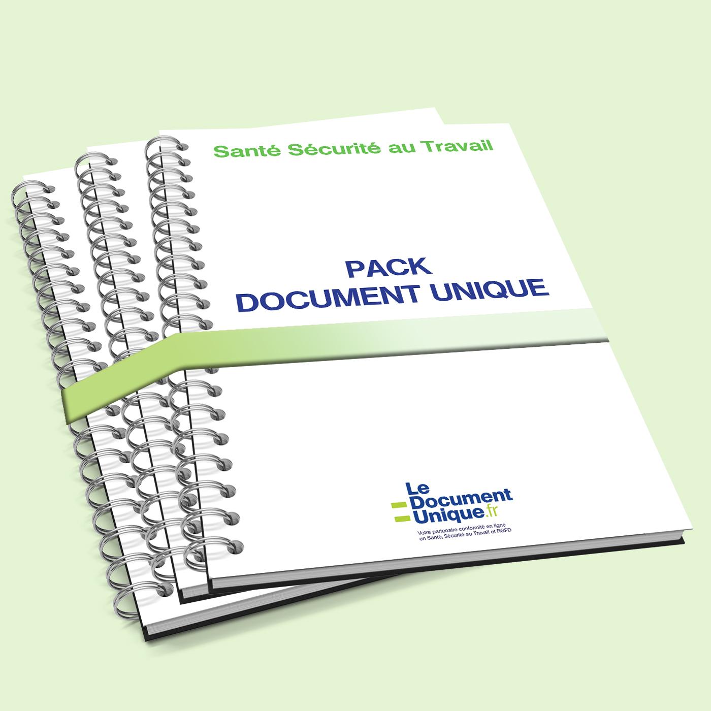 Pack document unique pour les entreprises