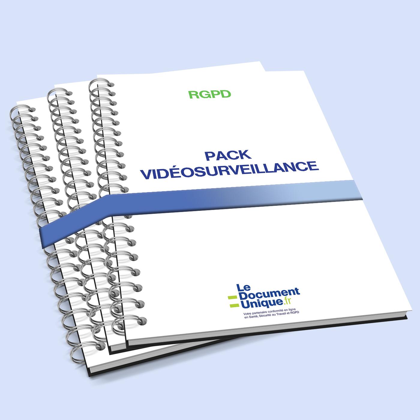 Pack document pour la vidéosurveillance en entreprise