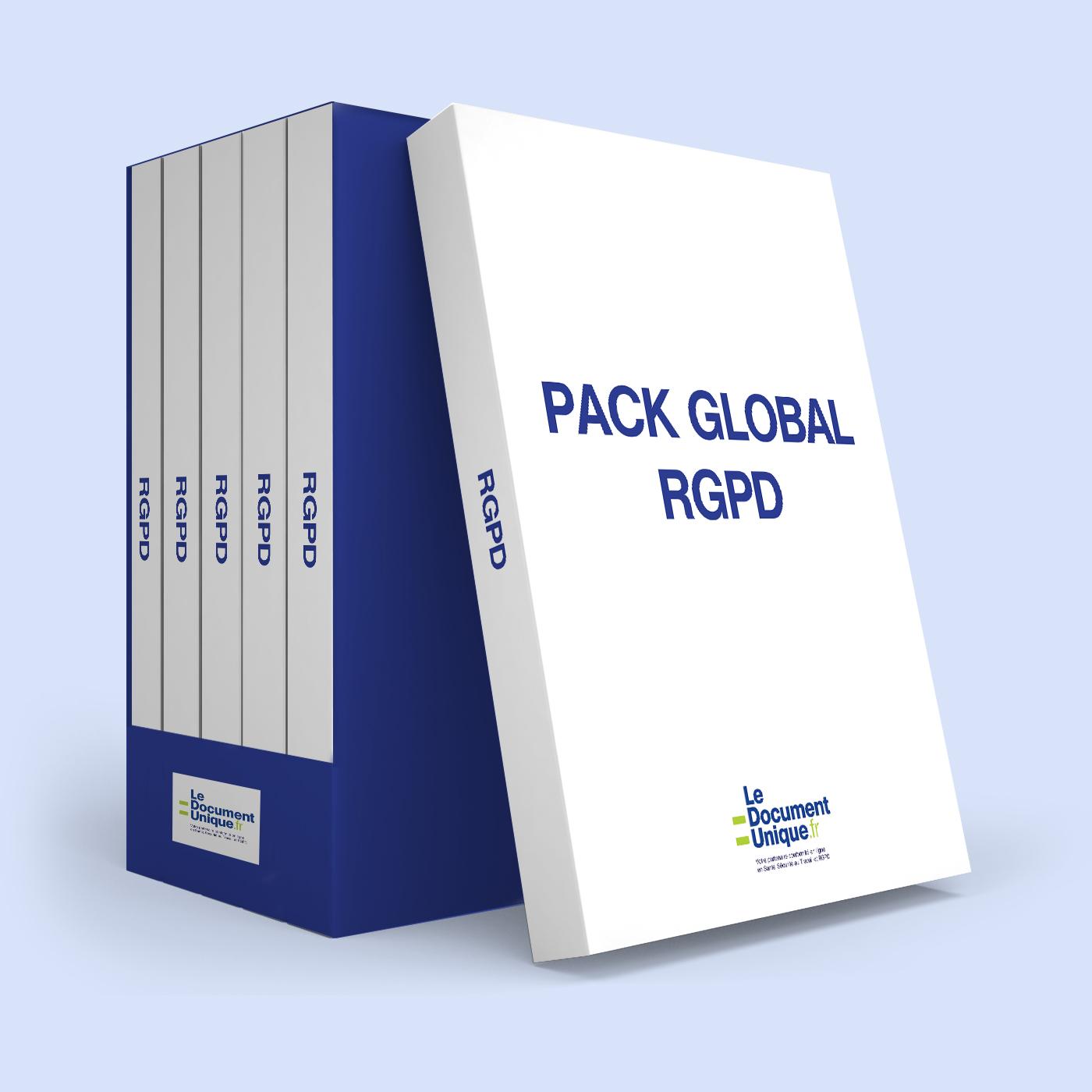 pack global RGPD pour les entreprises